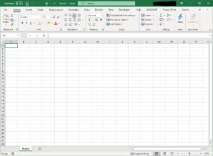 how to get rid of the search box in the top bar of excel